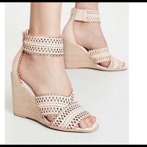NWT Jeffrey Campbell Nude Wedges